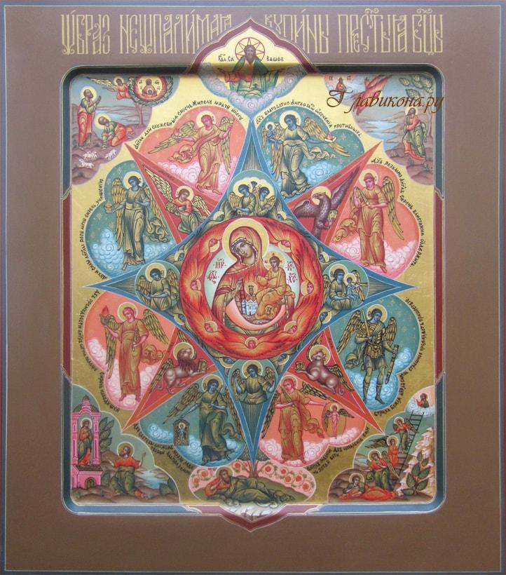 Икона палехской школы иконописи