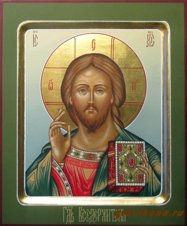 оплечная икона спасителя