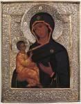 Иерусалимская икона из Новодевичьего монастыря