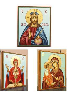 Отзыв о заказе трех писанных икон