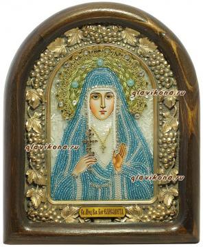 Отзыв о заказе иконы  Елизаветы из бисера, производство Дивеево