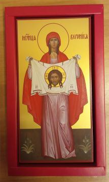 Икона Вероники, печатная в упаковке