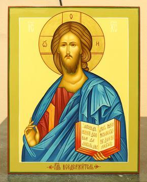 Образ Спасителя в византийском стиле