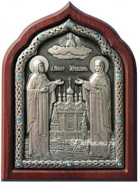 Серебряная икона Петра и Февронии - отзыв о заказе в Главикона