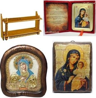 Отзыв о сборном заказе: иконы и полка