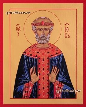 Заказная печатная икона святого Иова