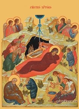 Отзыв о покупке печатной иконы Рождества Христова