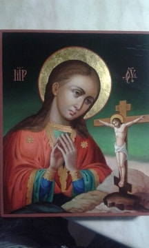 Ахтырская Б.М., отзыв о писаной иконе из Волгограда
