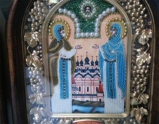 Отзыв о заказе дивеевской иконы бисером с доставкой в Зеленоград