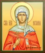 Рукописная икона мученицы Натальи артикул 560
