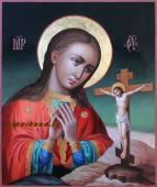 Ахтырская Божия Матерь рукописная икона артикул 5338