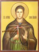Икона мученика воина Евгения Родионова артикул 552