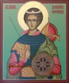 Именная икона Дмитрия Солунского артикул 567