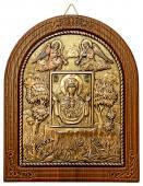 Медная икона Знамение