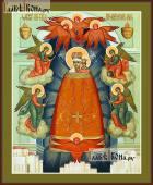 """Образ Божией Матери """"Прибавление ума"""" икона печатная на доске артикул 90326"""