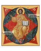 Спас в Силах печатная икона на доске артикул 90279