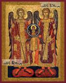 Михаил и Гавриил архангелы старинный стиль - артикул 90397