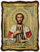 Александр Невский, икона 60х80см