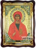 Анастасия Узорешительница, фигурная икона храмовая, 60х80 см