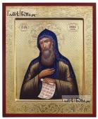 Антоний Печерский преподобный, печатная на дереве икона