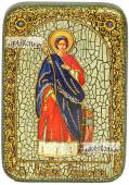 Екатерина великомученица ростовая икона подарочная в футляре 10х15 см