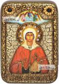 Анастасия Узорешительница икона подарочная в футляре 10х15 см
