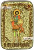Валерий Севастийский икона подарочная в футляре 10х15 см