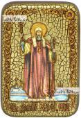 Филипп митрополит Московский святитель икона подарочная в футляре 10х15 см