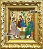 Вышитая икона Пресятой Троицы артикул 71900
