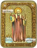Филипп митрополит Московский святитель икона подарочная на дубовой доске 15х20 см