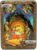 Рождество Христово аналойная икона подарочная