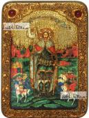 Александр Невский благоверный князь ростовой аналойная икона подарочная