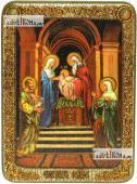 Сретение Господня аналойная икона подарочная