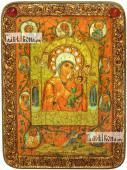 Тихвинская Хлебенная Запечная Божия Матерь аналойная икона подарочная