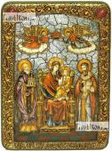 Домостроительница (Экономисса) Божия Матерь, аналойная икона подарочная