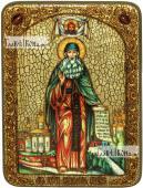 Максим Грек преподобный (ростовой), аналойная икона подарочная