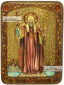Филипп, митрополит Московский, святитель, аналойная икона подарочная