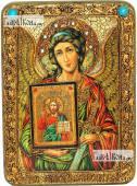 Ангел Хранитель с образом Господа аналойная икона подарочная