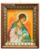 Ангел Хранитель икона на холсте в киоте-рамке