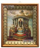 София - Премудрость Божия икона на холсте в киоте-рамке