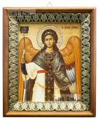 Гавриил Архангел (византийский стиль), икона на холсте в киоте-рамке