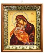 Гликофилусса Божия Матерь, икона на холсте в киоте-рамке