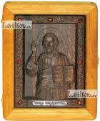 Резная икона Господа Вседержителя, артикул 22010