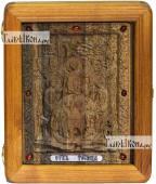 Резная икона Троицы Пресвятой артикул 22030