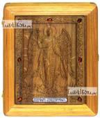 Резная икона Ангела Хранителя артикул 22090