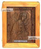 Резная икона Ангела Хранителя артикул 22091