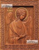 Резная икона Михаила архангела артикул 22311