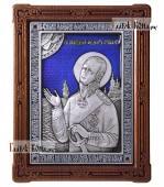 вятой Феодор Ушаков адмирал - икона серебряная с эмалью артикул 13203