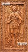 Димитрий Солунский - резная икона артикул 25034-02