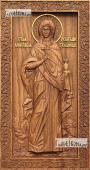 Анастасия Узорешительница - резная икона артикул 25038-01